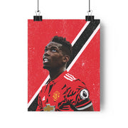 Iconic Paul Pogba Poster - Football Iconz