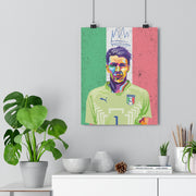 Iconic Gianluigi Buffon Poster - Football Iconz