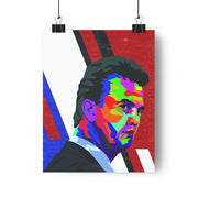 Iconic Louis van Gaal Poster - Football Iconz
