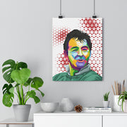 Iconic Brian Clough Poster - Football Iconz
