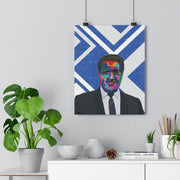 Iconic Jock Stein Poster - Football Iconz