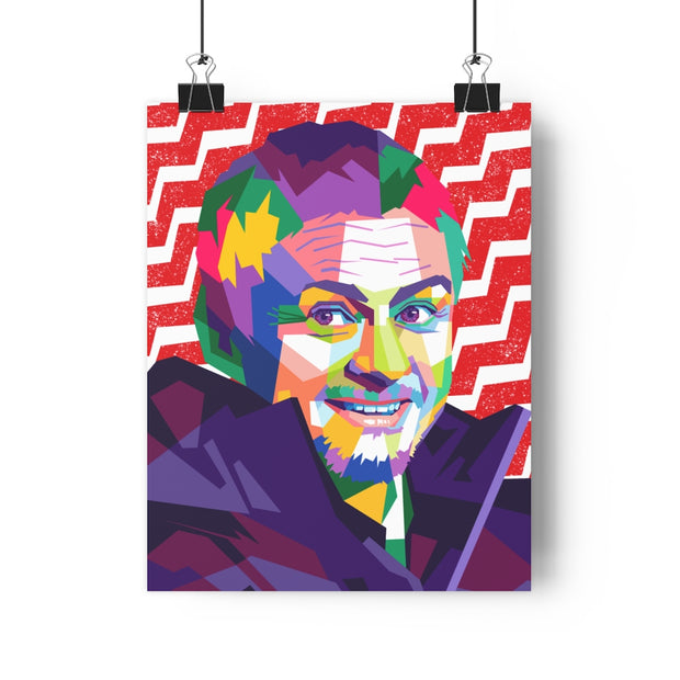 Iconic Ole Gunnar Solskjaer Poster - Football Iconz