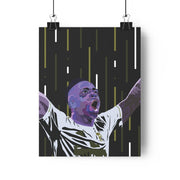 Iconic Vinicius Jr. Poster - Football Iconz