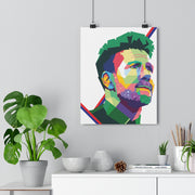 Iconic Diego Simeone Poster - Football Iconz