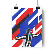 Iconic Pavel Nedved Poster - Football Iconz