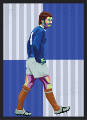 Iconic Alan Ball Poster - Football Iconz