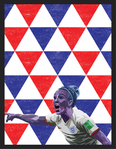 Iconic Lucy Bronze Poster - Football Iconz
