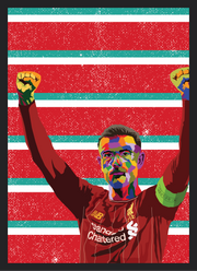 Iconic Jordan Henderson Poster - Football Iconz