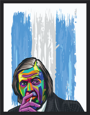 Iconic Cesar Luis Menotti Poster - Football Iconz