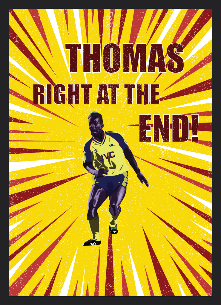 Iconic Michael Thomas Poster