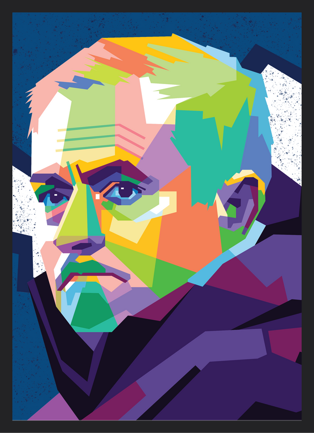 Iconic Jose Mourinho Poster - Football Iconz