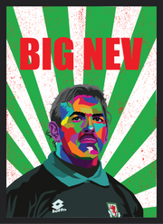 Iconic Neville Southall Poster - Football Iconz
