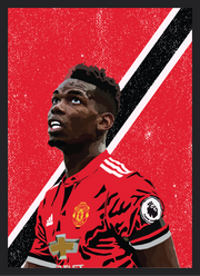 Iconic Paul Pogba Poster
