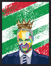 Iconic Claudio Ranieri Poster - Football Iconz