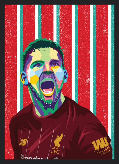 Iconic Andy Robertson Poster - Football Iconz