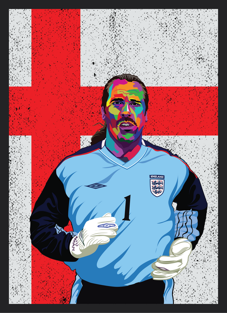 Iconic David Seaman Poster - Football Iconz