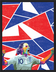 Iconic Kelly Smith Poster - Football Iconz
