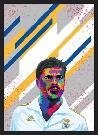Iconic Xabi Alonso Poster - Football Iconz