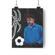 Iconic Lev Yashin Poster - Football Iconz