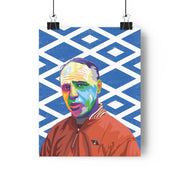 Iconic Bill Shankly Poster - Football Iconz
