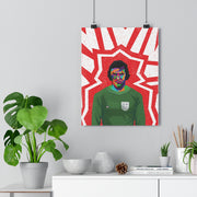 Iconic Peter Shilton Poster - Football Iconz