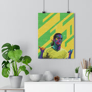 Iconic Ronaldinho Poster - Football Iconz