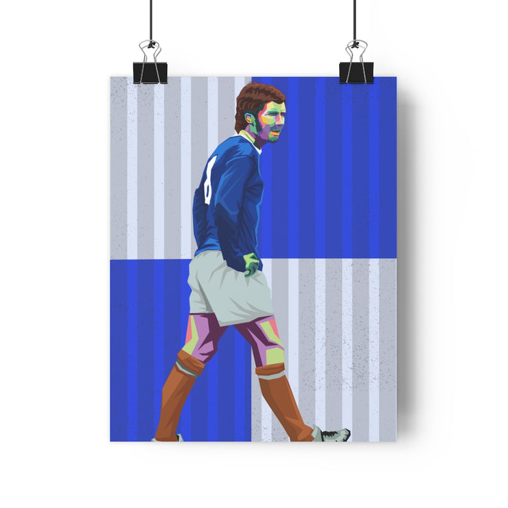 Iconic Alan Ball Poster