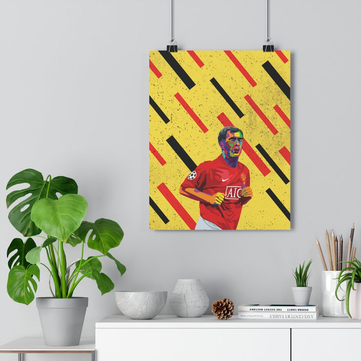 Iconic Paul Scholes Poster - Football Iconz