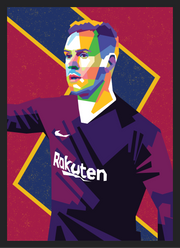 Iconic Ter Stegen Poster - Football Iconz