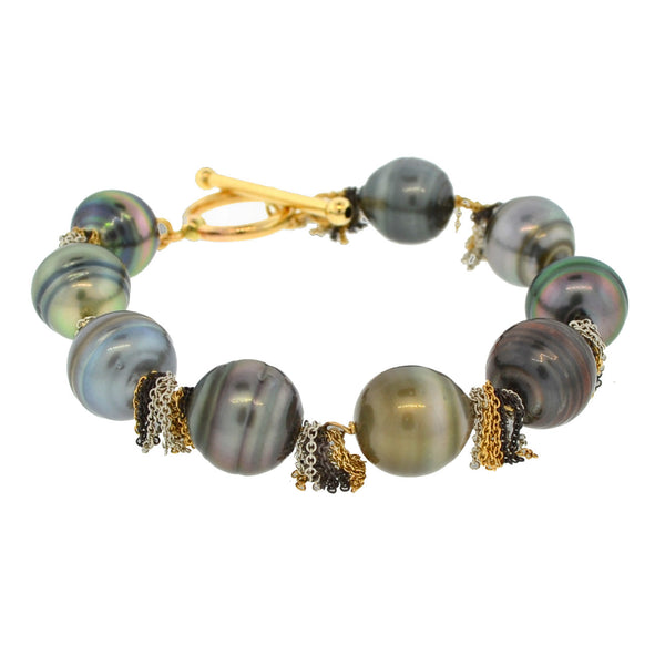 Venus in South Sea Pearl Bracelet