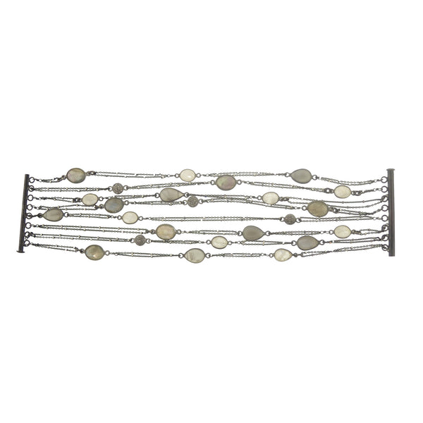 Moonstone Diamond bracelet