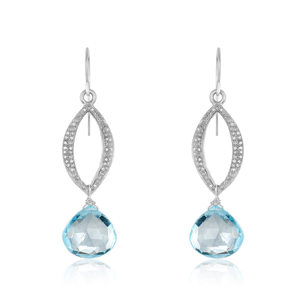 Matilda Pave Diamond Earrings