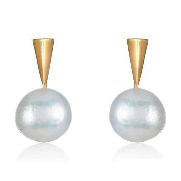 Pearl and Spike Earring