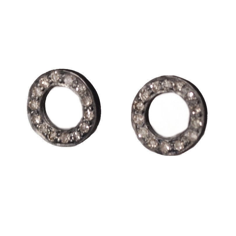 Circle Studs Earrings