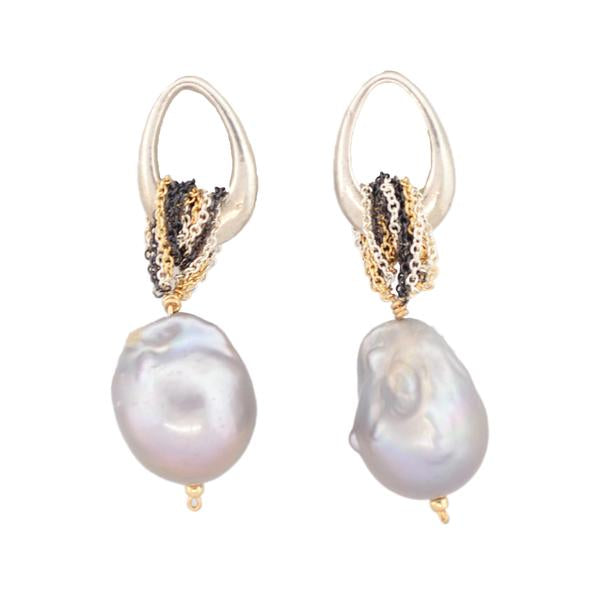 Under the Sea Pearl Earrings