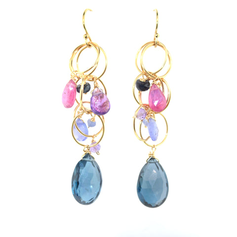 London Blue Tranquility Earrings