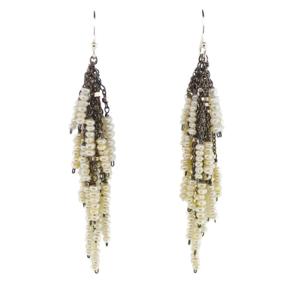 Pearl Firecracker Earrings