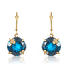 Blue Monserrat Earring