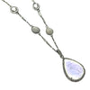 Mixed Moonstone Short Necklace