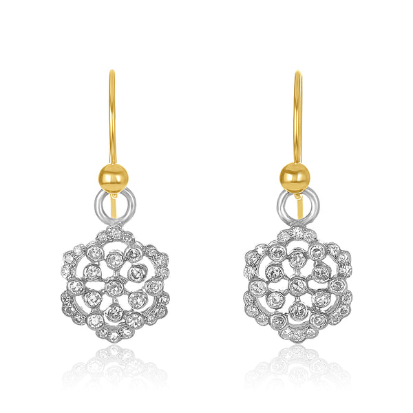 Flower Pave Drops