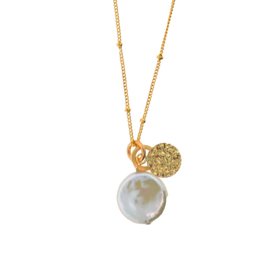 Gypsy Pearl Necklace
