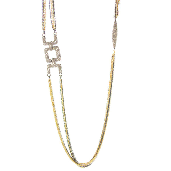 Claire Pave Necklace
