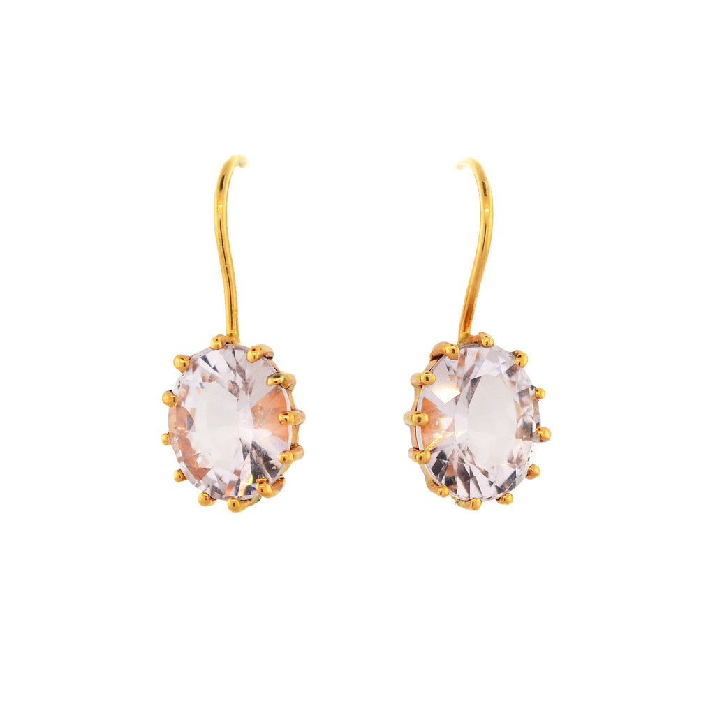 Blush Morganite Earrings