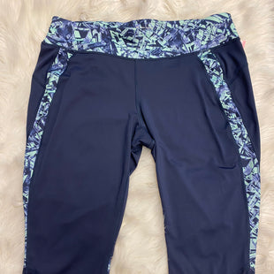 Primary Photo - BRAND: TEK GEAR STYLE: ATHLETIC CAPRIS COLOR: NAVY SIZE: 1X SKU: 198-19888-24927