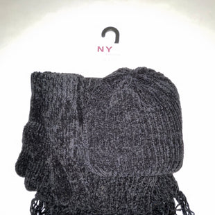 Primary Photo - BRAND: NEW YORK HAT CO STYLE: SCARF WINTER COLOR: BLACK OTHER INFO: NEW! 3 PC SET SKU: 198-19812-15399