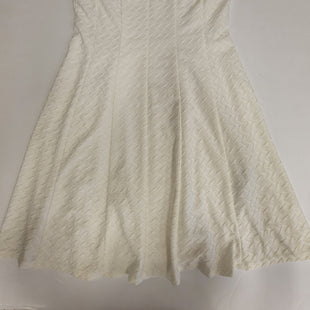 Primary Photo - BRAND: RONNIE NICOLE STYLE: DRESS SHORT SLEEVELESS COLOR: WHITE SIZE: M SKU: 198-19888-33199