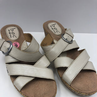 Primary Photo - BRAND: BOC STYLE: SANDALS LOW COLOR: CREAM SIZE: 9 SKU: 198-19888-32127