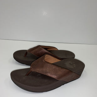 Primary Photo - BRAND: FITFLOP STYLE: FLIP FLOPS COLOR: BRONZE SIZE: 6 SKU: 198-19812-13329