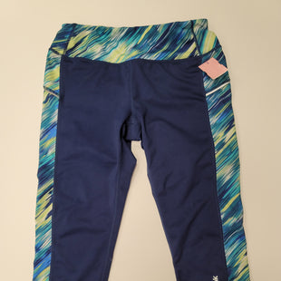 Primary Photo - BRAND: REEBOK STYLE: ATHLETIC CAPRIS COLOR: NAVY SIZE: S SKU: 198-19812-13025