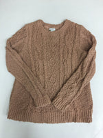 Primary Photo - BRAND: J JILL <BR>STYLE: SWEATER LIGHTWEIGHT <BR>COLOR: BROWN <BR>SIZE: PETITE   XS <BR>SKU: 198-19888-33252